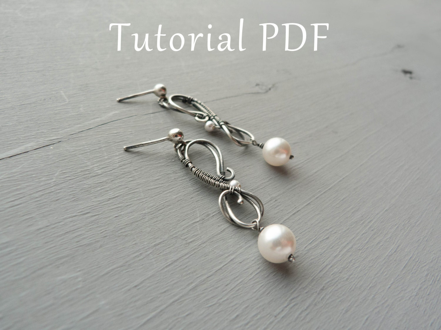 Jewelry tutorial diy project sterling silver earrings tutorial jewelry tutorial diy project sterling silver earrings tutorial tutorial wire wrapped earrings baditri Images
