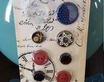 B61 -  Prima - Button Mix Package - 12 Pieces