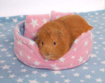 Guinea Pig Small Animal Fleece Accessory CUDDLE CUP Bed Cosy Sofa