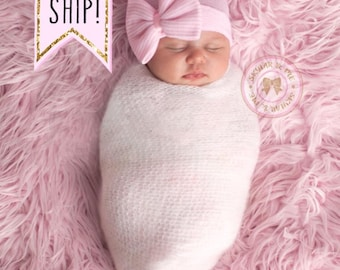 baby girl hat, newborn girl hat, baby girl hat, hospital newborn hat, newborn hat, infant hat, baby hat, baby bow