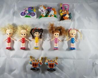 Set of Vintage CHAP MEI Dolly Pops Replicas