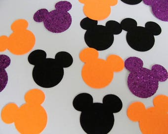 Mickey Mouse confetti,Halloween confetti, Wedding Confetti,Birthday Party Decor, Mickey glitter,Mickey Table Scatter, Baby Shower Decor