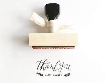 Personalized Stamp // Thank You Stamp // Custom Calligraphy