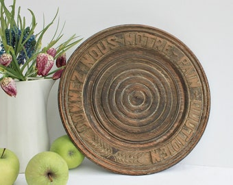 Vintage, French, Wooden, Bread board, Wall Art, French Farmhouse, French Decor, Rustic decor, rustic kitchen, French Kitchen