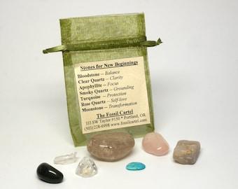 Healing Stones For New Beginnings