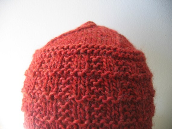 Grid Hat Knitting Pattern Instant Download Pdf