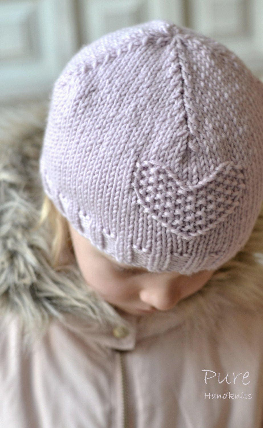 EASY hat KNITTING PATTERN Fay girls through to adult from ...