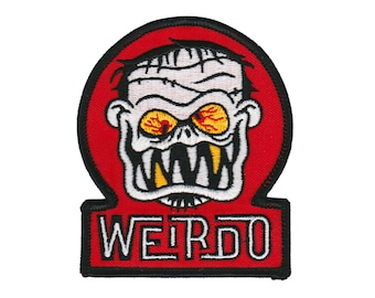 Weirdo Patch - Lowbrow Monster Art Embroidered Patch