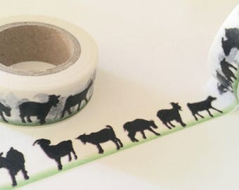 Farm Animals Washi Tape