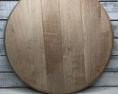 Whiskey Barrel Head/Plain...