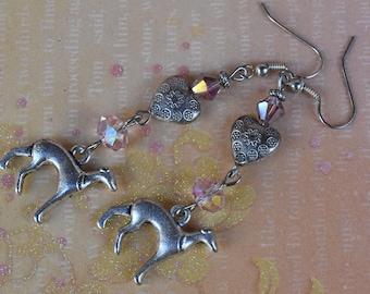 Greyhound earrings. Dog earrings. Italian greyhound earrings. Whippet earrings. Iggy dog earrings. Galgo earrings.