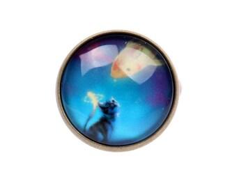 Cat Ring, Cat jewelry (2020B)