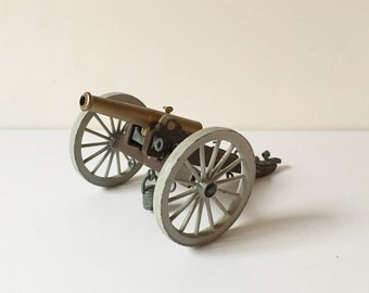 Civil War Canon 1971 Deetail England Toy Soldiers Collectibles Gun Canon