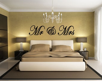Superior Mr U0026 Mrs Wall Decal,sticker,Vinyl Decal,Vinyl Wall Art, Christian