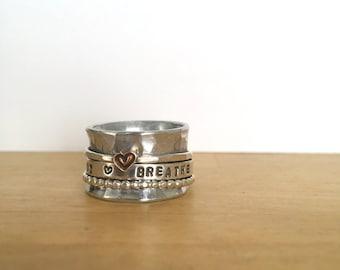 Breathe Spinner Ring