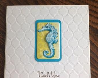 Handmade Greeting Card- Thank You Greeting Card