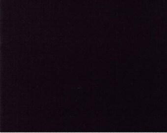 Moda Linen Mochi Solid Black -- 1/2 Yard