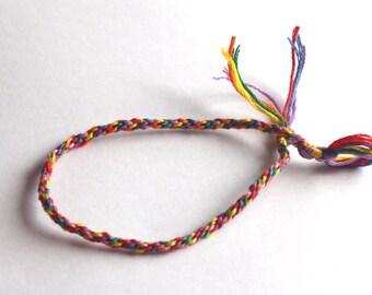 Pride bracelet - Gay pride rainbow flag