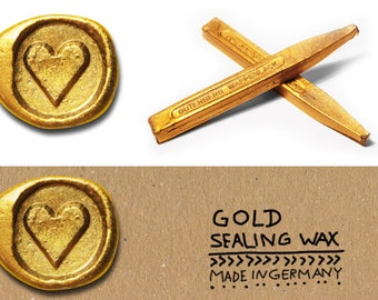 Golden Sealing wax, Sealing wax shellac gold, Sealing wax for golden wedding, Gold Sealing wax shiny, Metallic Sealing wax, Golden Wax