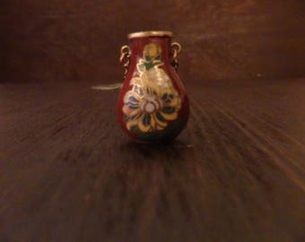 Small Bottle Pendant Extra Long Necklace