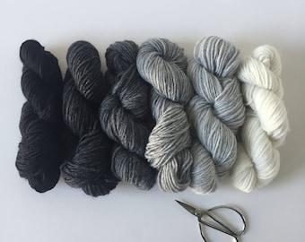 Woolly Yarn Pack XL / Neutrals