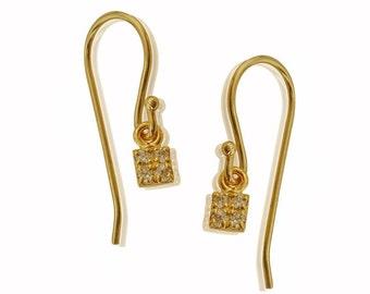 Diamond Earrings, Bridal Earrings, Unique Diamond Earrings, Dangle Diamond Earrings, Womens Diamond Earrings, Fine Jewelry, Free Shipping
