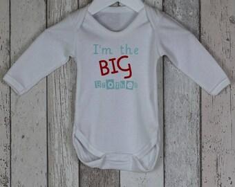 Big Brother / Big Sister Long Sleeved Bodysuit