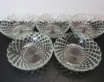 Anchor Hocking Waterford Cereal Bowls, set of 5 for one deal