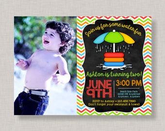 Splash Pad Party Invitation,Splash Party Invitation,Splash Pad Birthday Invitation,Splash Pad Invitations,Splash Party Invite,Water Park