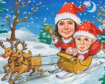 Christmas Caricature Gifts