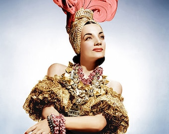 CARMEN MIRANDA PHOTO #5C
