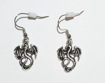 Dragon Earrings / Dragon Jewelry / Dragons / Fantasy Earrings / Fantasy Jewelry / Fairy Tale Earrings / Fairy Tale Jewelry / Gifts for Her