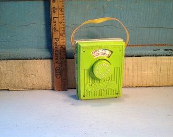 Vintage Music box Fisher Price 1964 happy birthday