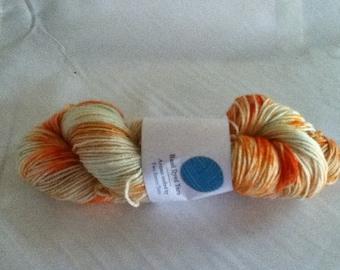 Orange Rose BFL DK Superwash