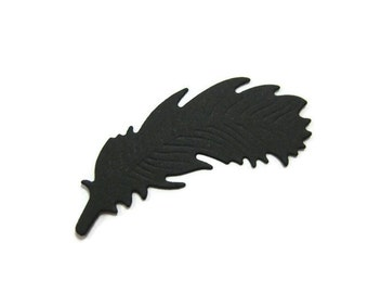 Paper Feather Die Cut Set of 25