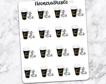 COFFEE BREAK Stickers — 1012