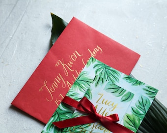 Custom Letterpress & Illustrated Stationery  - Unique Wedding Stationery