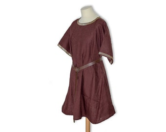medieval tunic, viking tunic, sca garb, knight, game of thrones costume, hobbit, bard, medieval wedding, medieval clothing, made to order