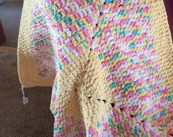 Baby Blanket, youth afghan, lap blanket
