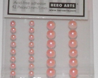 ON SALE  Pale Pink Accent Pearls