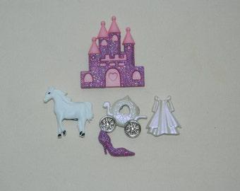 Princess Button Magnet Set!
