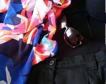 Scarf, Sarong, Pareo, Cover Ups, Sarong Wrap Skirt, Beach Cover Ups, Womens Clothing