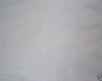 White Organdy fabric, Stiff finish, yardage