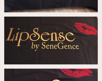 Lipsense tablecloth/ Lip Sense Tablecloth/ Lipsense table cloth