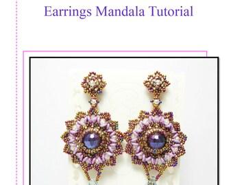Earrings Mandala Tutorial in lingua ITALIANA ed INGLESE