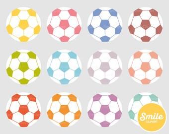 Soccer Ball Clipart Illustration for Commercial Use | 0472