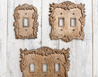 Light Switch Cover, Light Switchplates, Switch Cover, Lightswitch Cover, Light Switch Cover Plates, Rustic Home Decor, Rustic Wall Decor