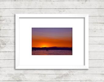 Tahoe Summer Sunset Photograph