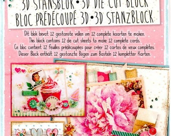 34661 block images studio light 3d die cut soft romance