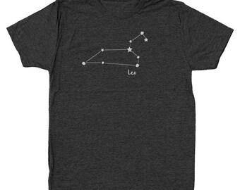 Leo Zodiac Sign Birthday Space Cute Men's Tri-Blend T-Shirt DT1439